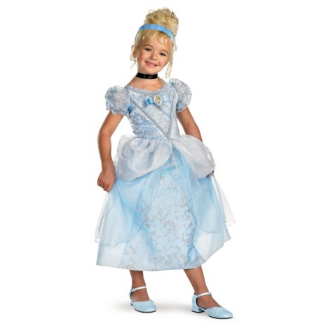 Cinderella Deluxe Child Costume - Size 4-6