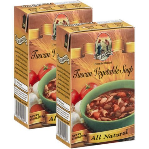 Dal Raccolto Tuscan Vegetable Soup - 2/17.8oz