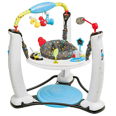 D - Evenflo Exersaucer Jump & Learn Activity Center - Jam Session