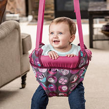 Evenflo Exersaucer Doorway Jumper, Pink Bumbly