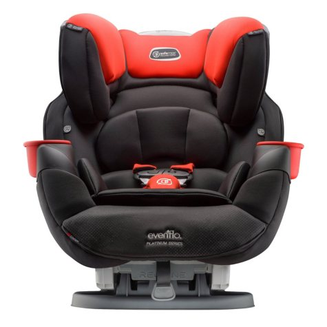 Evenflo Platinum SafeMax All-In-One Convertible Car Seat (Choose Your Color)