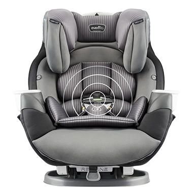Evenflo Platinum SafeMax All In One Convertible Car Seat With SensorSafe Industrial Edge