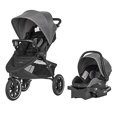 Evenflo Folio3 Stroll and Jog Travel System (Choose Your Color)