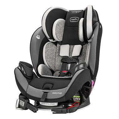 Evenflo EveryStage DLX All In One Car Seat Choose Your Color