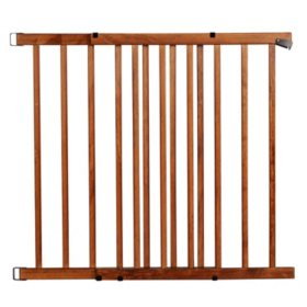 Farmhouse Collection Baby Safety & Health Expansion Walk Thru Room Divider Gate Safety Gates