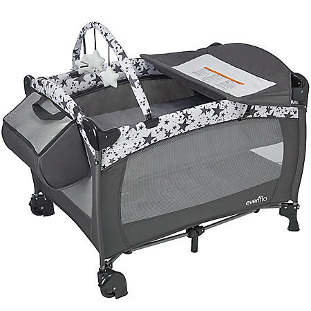 Evenflo Portable BabySuite Deluxe Playard (Choose Your Color)