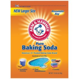 Arm & Hammer Pure Baking Soda (13.5 lbs.)