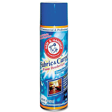 Arm & Hammer Fabric & Carpet Foam Deodorizer