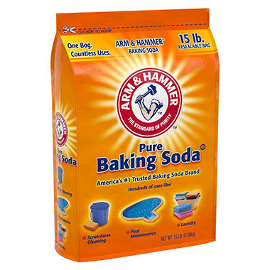 Arm & Hammer Pure Baking Soda (15 lbs.)