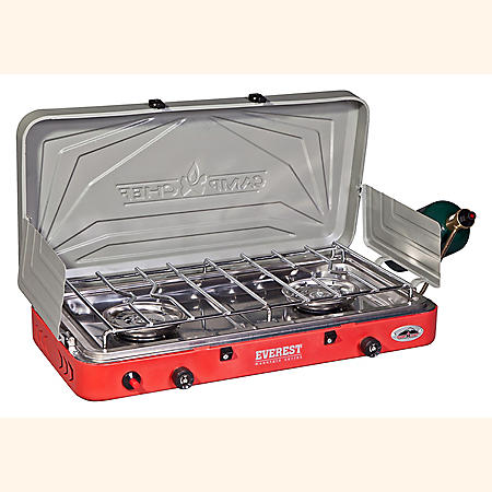 Everest Two-Burner Camp Stove