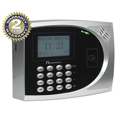 Acroprint Proximity Time & Attendance System