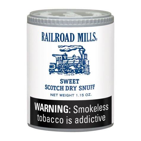 Railroad Mills Snuff - 12/1.5 oz. cans