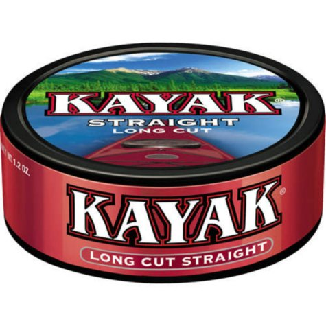 Kayak Long Cut Straight (10 cans)