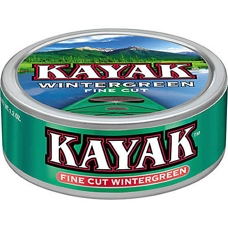 Kayak Fine Cut Wintergreen - 5 ct.