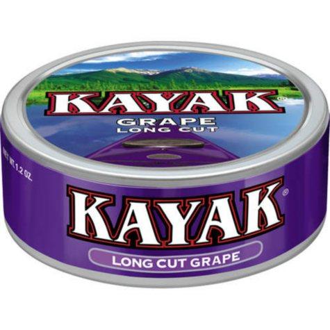 Kayak Long Cut Grape Tobacco (10 cans)