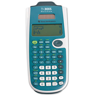 Texas Instruments - TI-30XS MultiView Scientific Calculator -  16-Digit LCD
