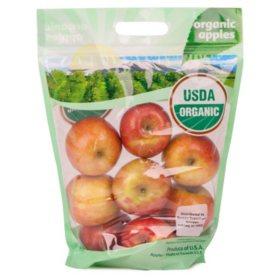 Organic Fuji Apples (5 lbs.)