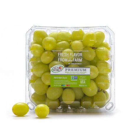 Organic Green Seedless Grapes (3 lbs.)