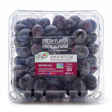 Black Seedless Grapes Black Seedless Grapes ...