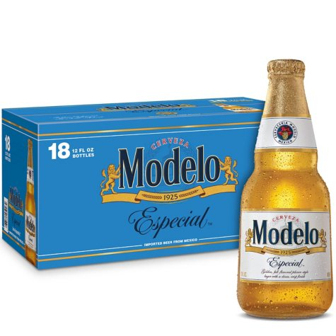 Modelo Especial Beer (12 fl. oz. bottle, 18 pk.)