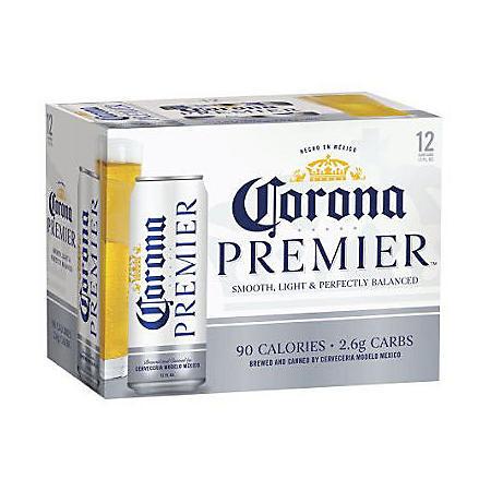 Corona Premier (12 fl. oz. can, 24 pk.)