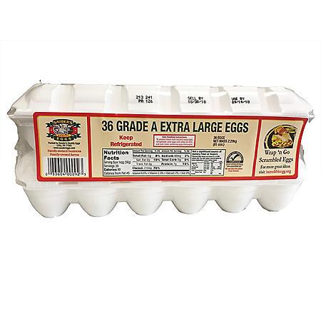 Sauder's White Extra Large Eggs (18 pk., 2 ct.)