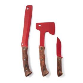 Buck Knives Compadre Series Walnut HDL, Roll-up Sheath (104,106,108)