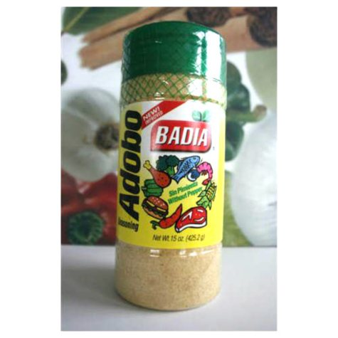 Badia Adobo without Pepper - 16 oz.