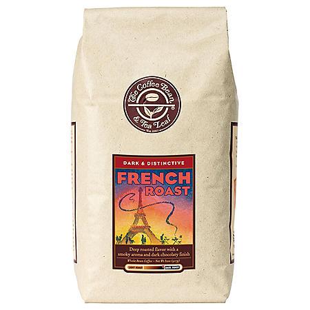 The Coffee Bean & Tea French Whole Bean Coffee - 2 lbs.