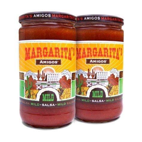 Margarita's Amigos Mild Salsa (24 oz. jar, 2 pk.)