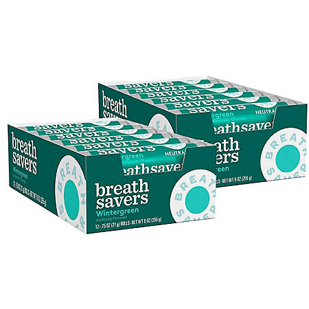Breath Savers Wintergreen Mints (12 ct., 24 pks.)