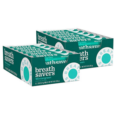 Breath Savers Wintergreen Mints (12 ct., 24 pk.)