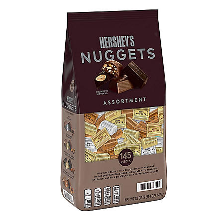 Hershey's Nuggets Chocolate Assortment (52oz.)