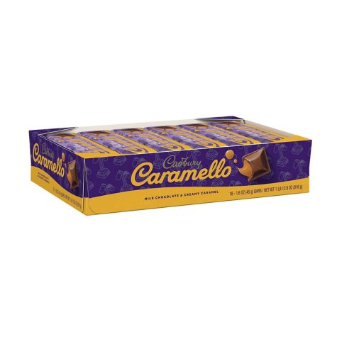 CADBURY CARAMELLO Bar (1.6 oz., 18 ct.)