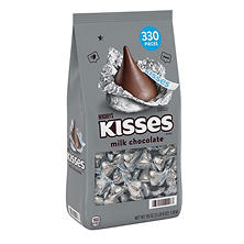 KISSES Milk Chocolates (56 oz., 330 ct.)