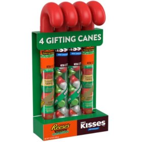 Hershey's Gifting Candy Canes Assortment (10.26 oz., 4 pk.)