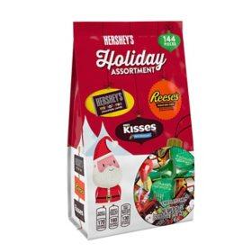 Hershey Holiday Chocolate Assortment (38 oz., 144 ct.)