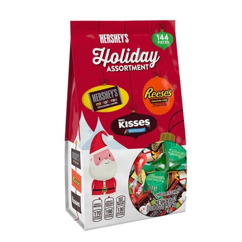 Hershey's Holiday Assortment (38 oz. bag, 144 ct.)