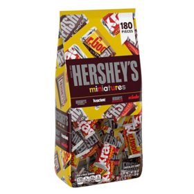 Hershey's Miniatures Assortment (3.5 lbs., 180 ct.)