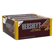 Hershey's Milk Chocolate With Almonds Bar, King Size (18 ct.)