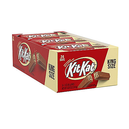 Kit Kat Wafer Bars King Size (3 oz., 24 ct.)