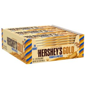 Hershey's Gold Creme Full Size Bars (1.4 oz., 24 ct.)