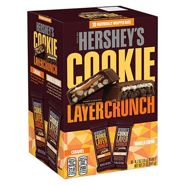 Hershey's Cookie Layer Crunch Variety Pack (30 ct.)