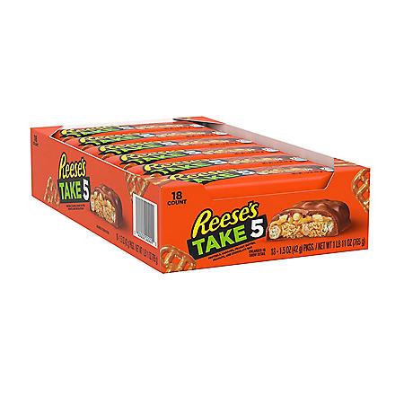 Reese's TAKE5 Bar (1.5 oz / 18pk)