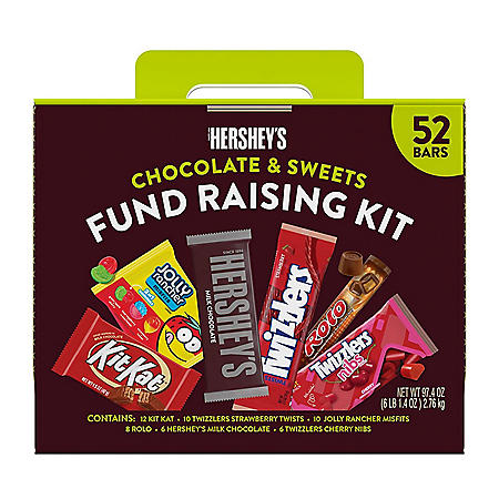 Hershey's Chocolate and Sweets Fundraising Kit (52pk.)