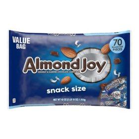 Almond Joy Snack Size Bars (42 oz., 70 ct.)