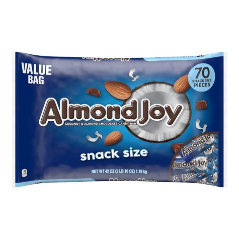 Almond Joy Snack Size Bars (42 oz., 70 ct.)