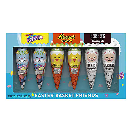 Hershey's Easter Friends Candy Assortment (4.23 oz., 6 ct.)