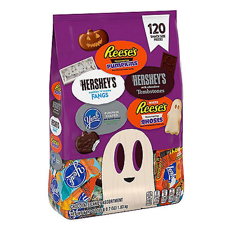 Hershey's Halloween Snack Size Candy Assortment (64.7oz.)
