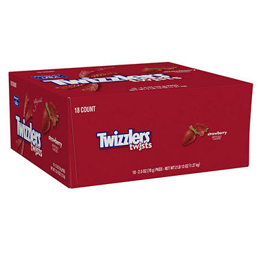Twizzlers Strawberry Twists (18 ct.)